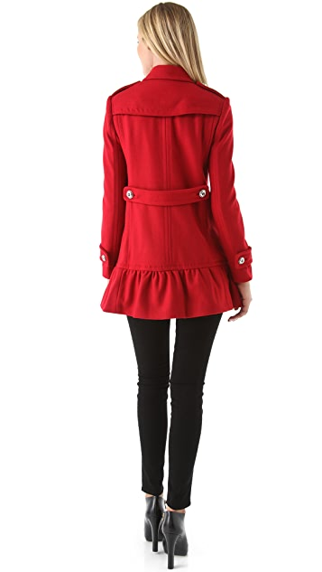 Juicy Couture Ruffle Coat