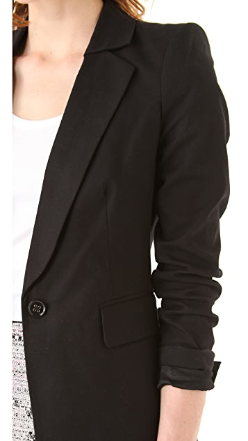 Juicy Couture Sharp Shoulder Blazer