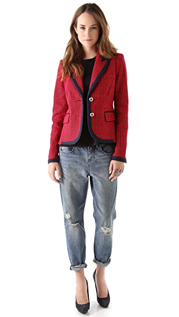 Juicy Couture Fitted Prep Blazer