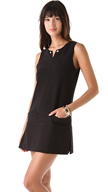 Juicy Couture Rounded Double Cloth Dress
