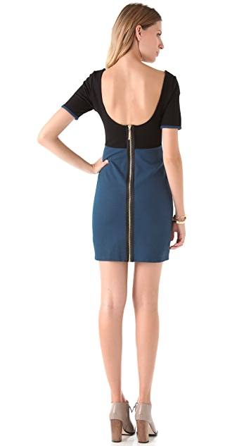 Juicy Couture Fitted Colorblock Dress