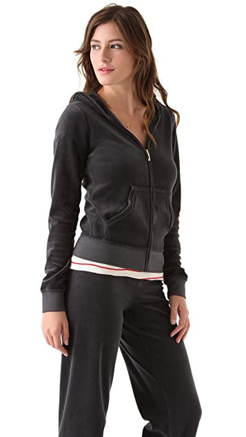 Juicy Couture Velour Original Zip Hoodie