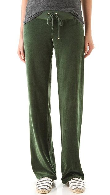 Juicy Couture Original Leg Drawstring Pants