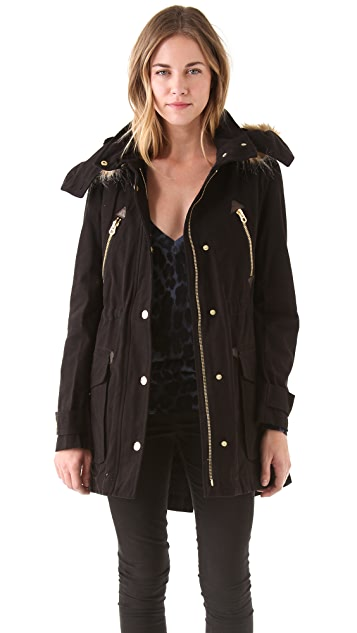 Juicy Couture Fur Lined Luxe Parka