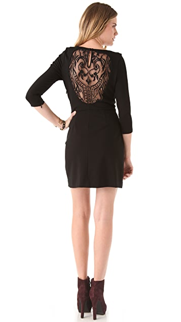 Juicy Couture Deco Lace Back Dress