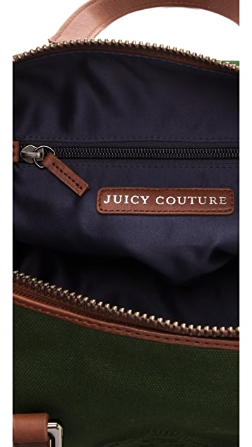 Juicy Couture Steffy Canvas Satchel