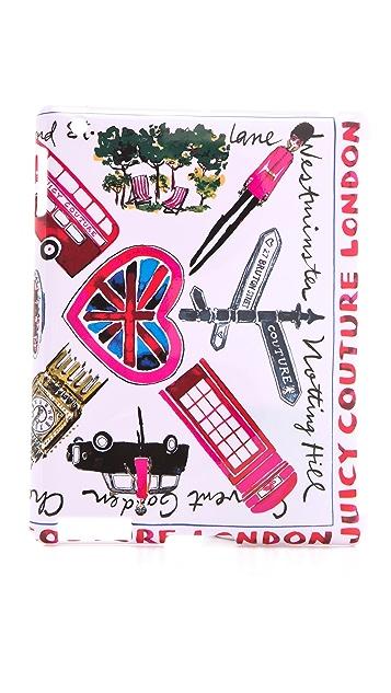 Juicy Couture London Hardshell iPad Case