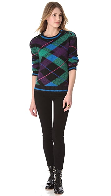Juicy Couture Chateau Mohair Sweater