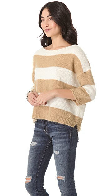 Juicy Couture New Jocelyn Striped Sweater