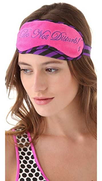 Juicy Couture Sleep Set with Eye Mask