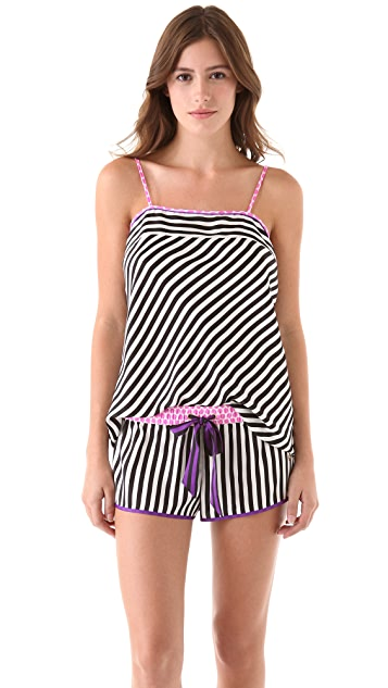 Juicy Couture Stripe & Dot Camisole