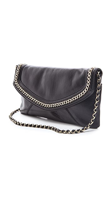 Juicy Couture Tough Girl Leather Envelope Clutch