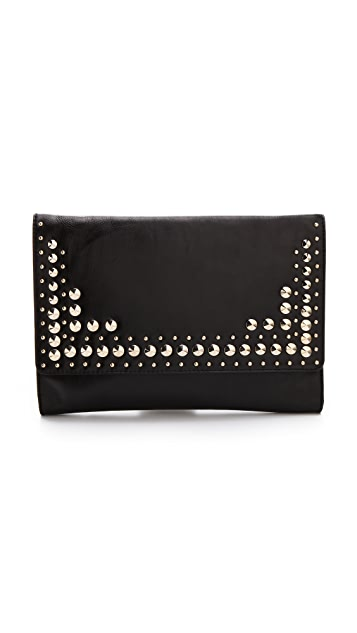Juicy Couture Tough Girl Leather Alex Clutch