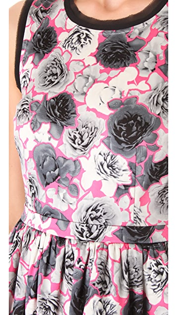 Juicy Couture Graphic Rose Dress