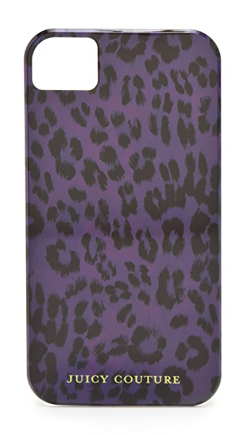 Juicy Couture Leopard iPhone Case