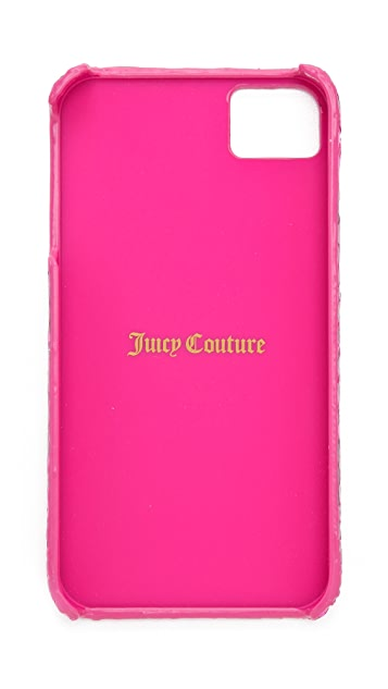 Juicy Couture Python Leather iPhone 4 Case