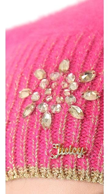 Juicy Couture Metallic Angora Beanie