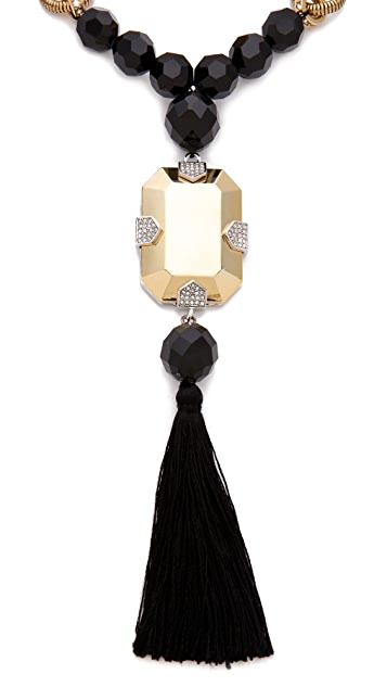 Juicy Couture Large Tassel Necklace