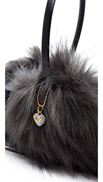 Juicy Couture Faux Fur Earmuff Headphones