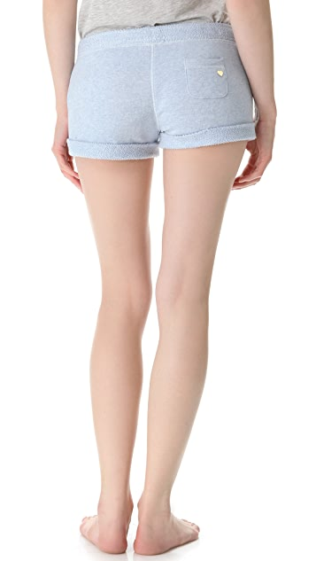 Juicy Couture Heathered Terry Shorts