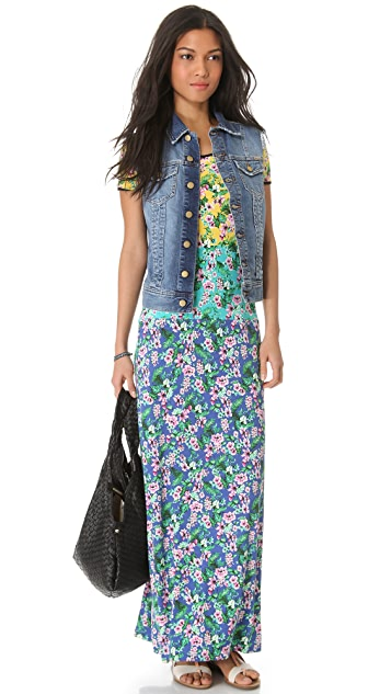 Juicy Couture Hibiscus Maxi Dress