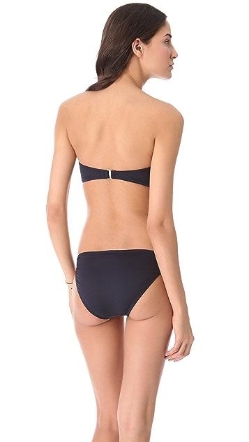 Juicy Couture Gold Link Bandeau Bikini Top
