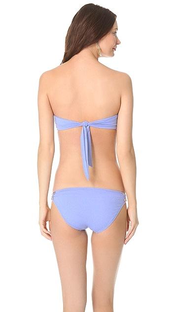 Juicy Couture Miss Divine Hearts Button Bikini Top