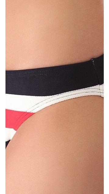 Juicy Couture Port Stripe Bikini Bottoms