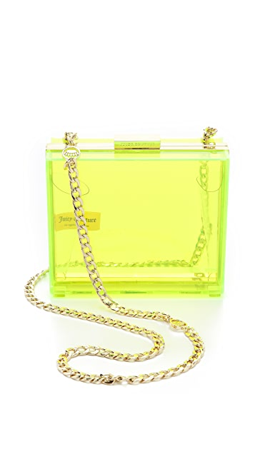 Juicy Couture Lucite Minaudiere