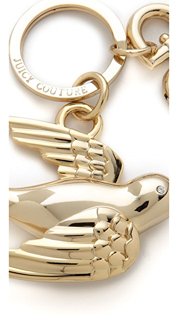 Juicy Couture Sparrow Keychain