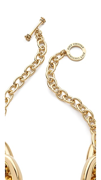 Juicy Couture Chunky Link Necklace