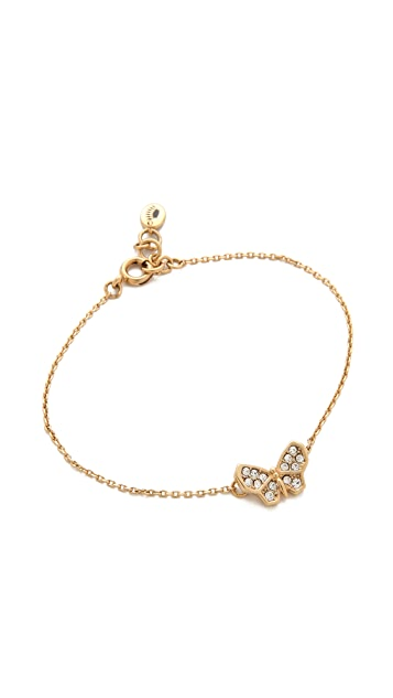 Juicy Couture Pave Butterfly Bracelet