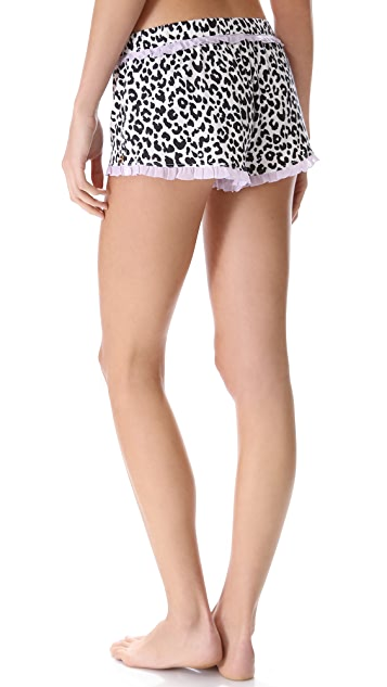 Juicy Couture Boudoir Leopard Shorts