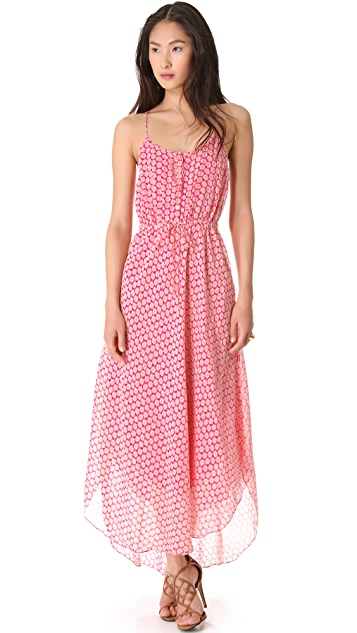 Juicy Couture Starflower Medallion Maxi Dress