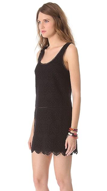 Juicy Couture Crochet Lace Tank Dress