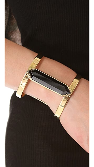 Juicy Couture Black Open Cuff