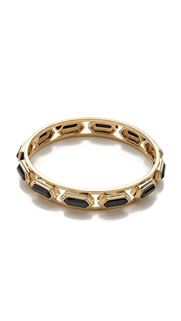 Juicy Couture Black Geo Bangle