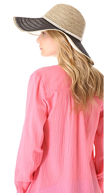 Juicy Couture Oversized Straw Sunhat
