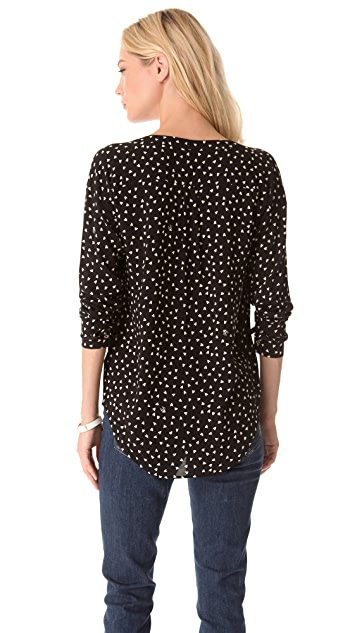 Juicy Couture Arrow Heart Blouse