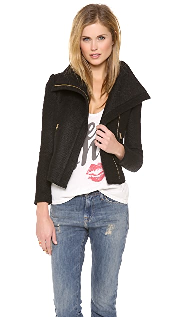 Juicy Couture Chunky Sweater Jacket