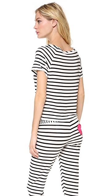 Juicy Couture Stripe Modal Tee