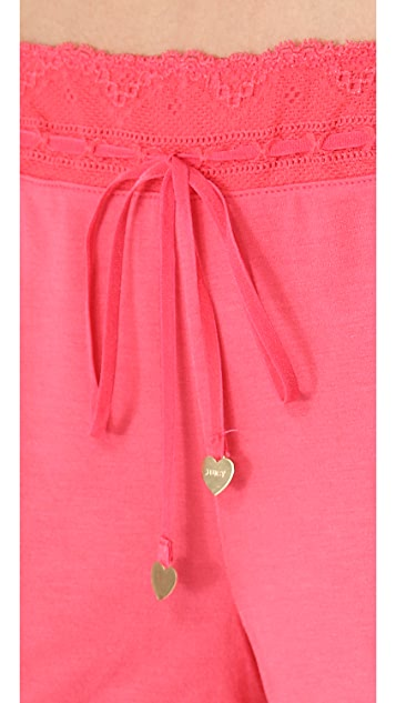 Juicy Couture Essential Sleep Shorts