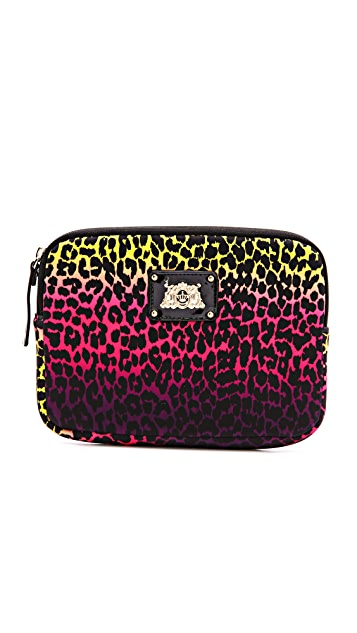 Juicy Couture Ombre Leopard iPad Mini Zip Around Case