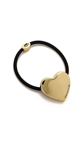 Juicy Couture Juicy Heart Hair Tie
