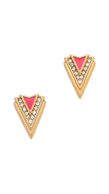 Juicy Couture Spike Stud Earrings