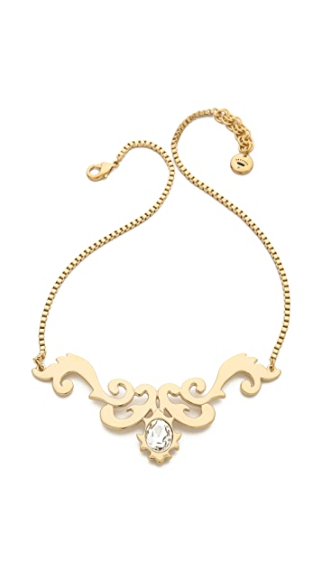 Juicy Couture Openwork Necklace