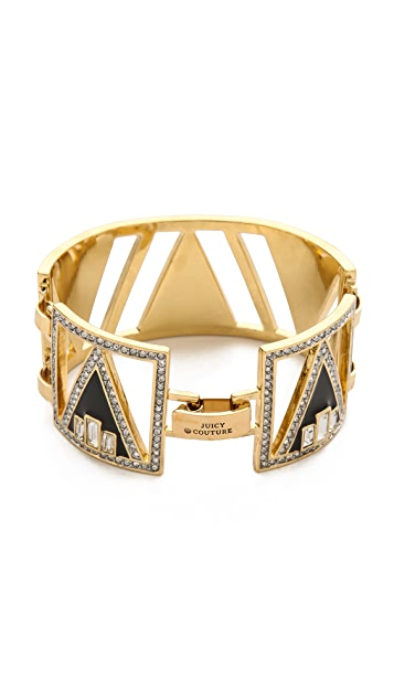 Juicy Couture Open Plate Bracelet
