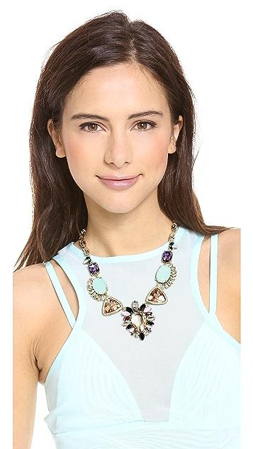 Juicy Couture Oversized Gemstone Drama Necklace