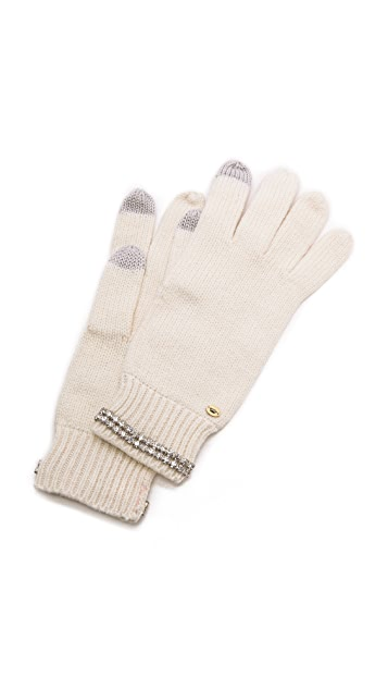 Juicy Couture Glamour Girl Texting Gloves