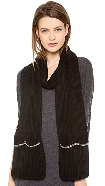 Juicy Couture Glamour Girl Pocket Scarf
